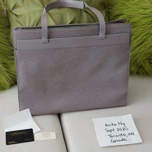 Authentic Rare LV Lilac Epi Croisette GM Tote Bag
